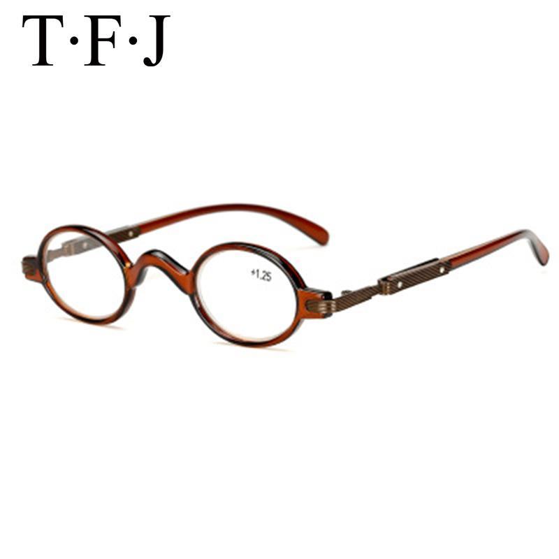 Ретро чтения очки Мужчины дальнозоркостью очки чтения Ultralight Маленький круглый Reading Женщины Presbyopia очки Ochki