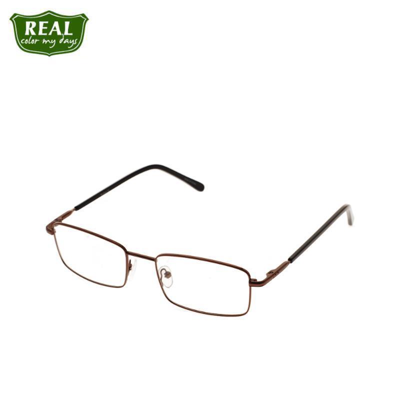 2020 Basit Eski İş Optik Gözlük Çerçevesi Metal Çerçeve Miyop Erkekler Gözlükler Gözlükler Unisex