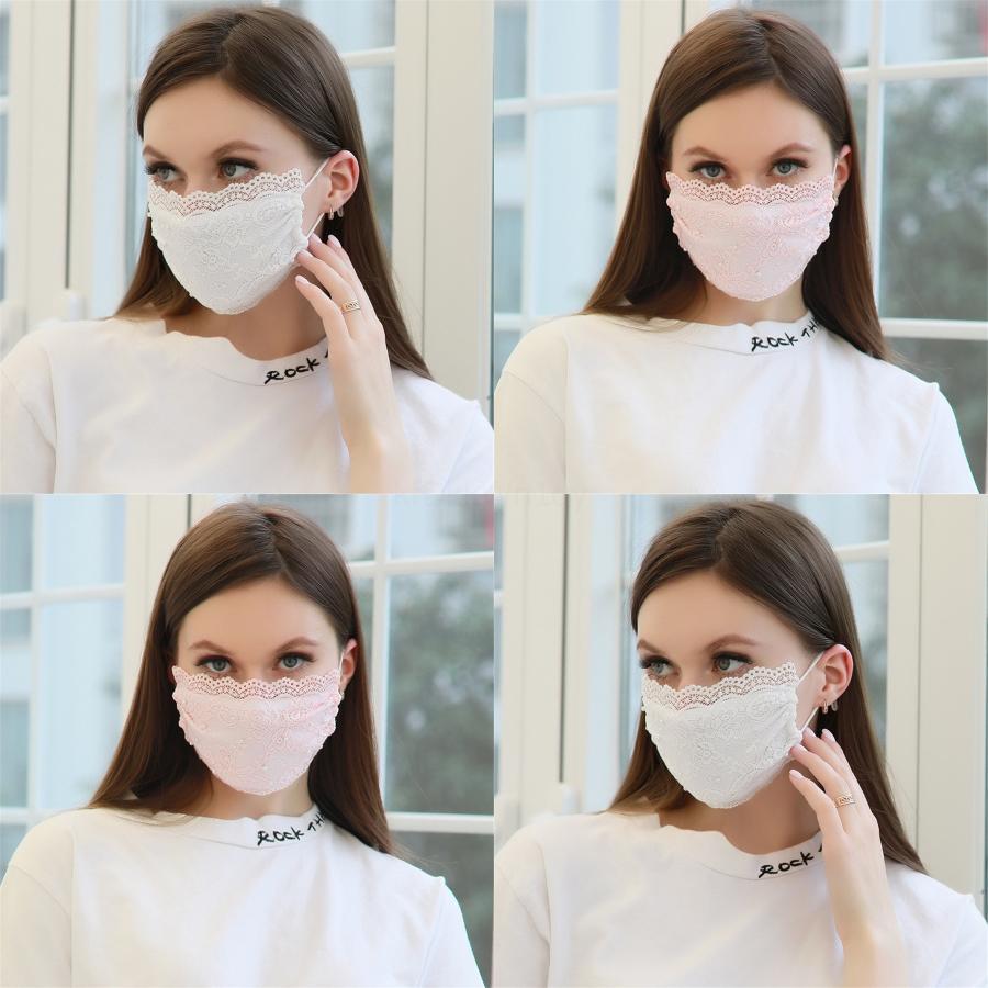Impression antipoussière glace de la mode soie garçons Masques fille adulte visage Masque Masque Reuseable lavable rapide # 246