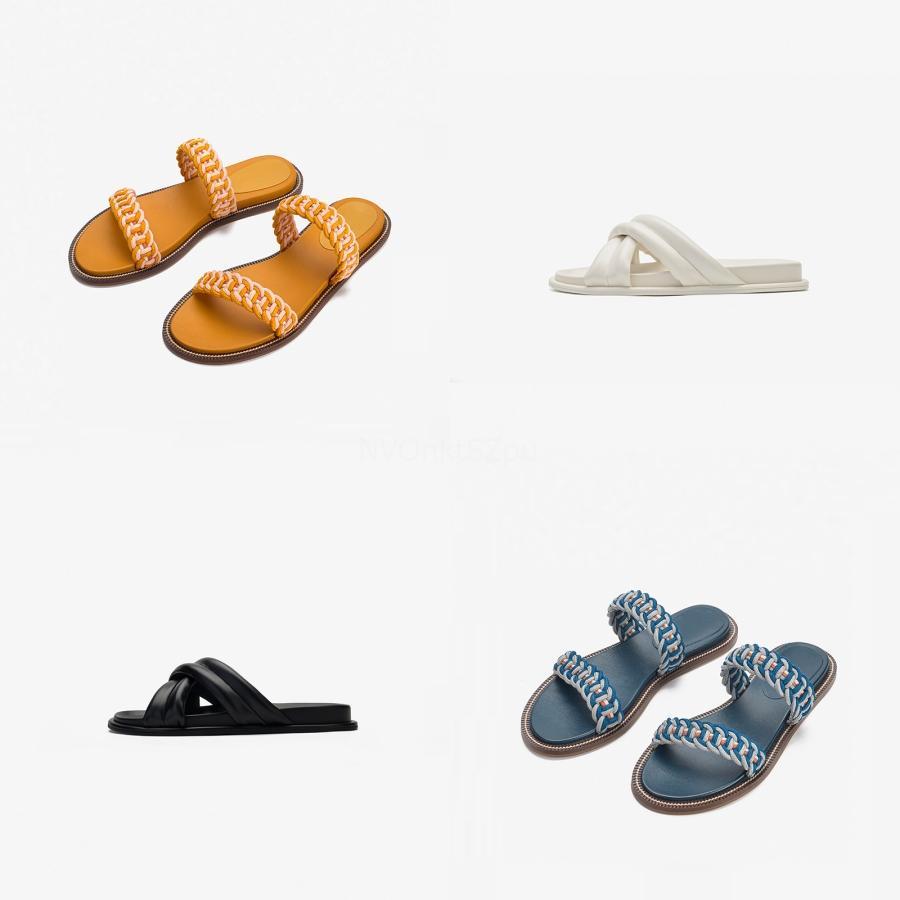 Damenschuhe Sandalen High Quality Heels Pantoffel Huaraches Flip Flops Slipper Schuh für Slipper Shoe04 PL0152 C22 # 759