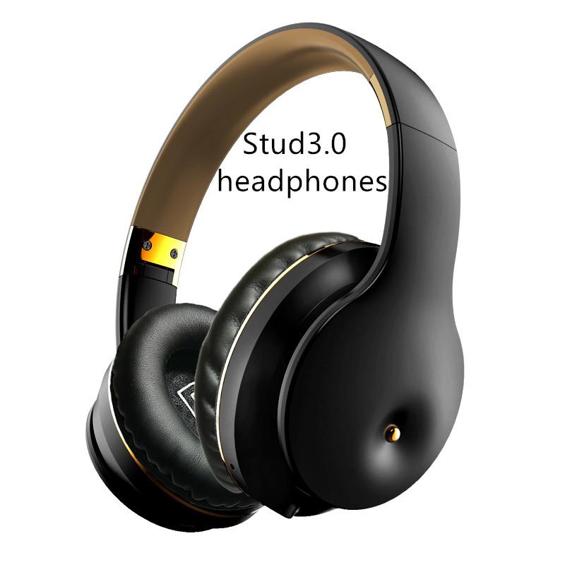 Stud3.0 Беспроводные наушники Bluetooth стерео гарнитура Поддержка Mic TF для Android оптовой поддержки груза падения