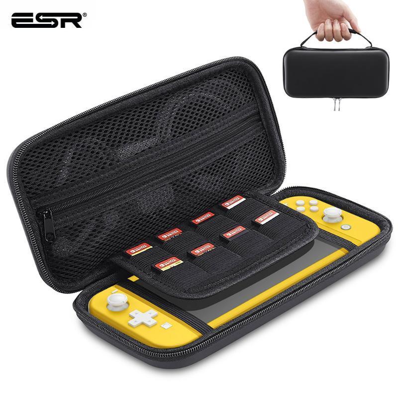 ESR хранения сумка для коммутатора Lite Портативный Несущая карты игровых консолей Защитный чехол для переключателя