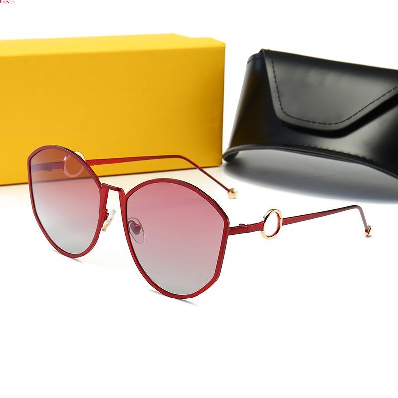 FENDI FF0335 mens di sport degli occhiali da sole occhiali vintage tonalità signore oversize occhiali da sole senza montatura atteggiamento moda di guida occhiali da pesca lunette