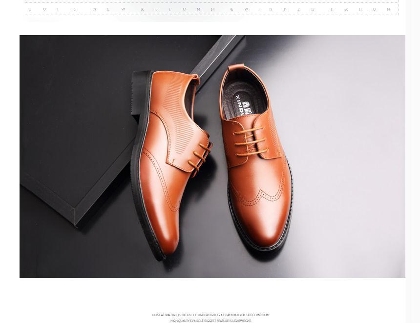 2020 весной и осенью с обувью Нового стиля мода низкого каблука заостренного концом мужской @ ZX175