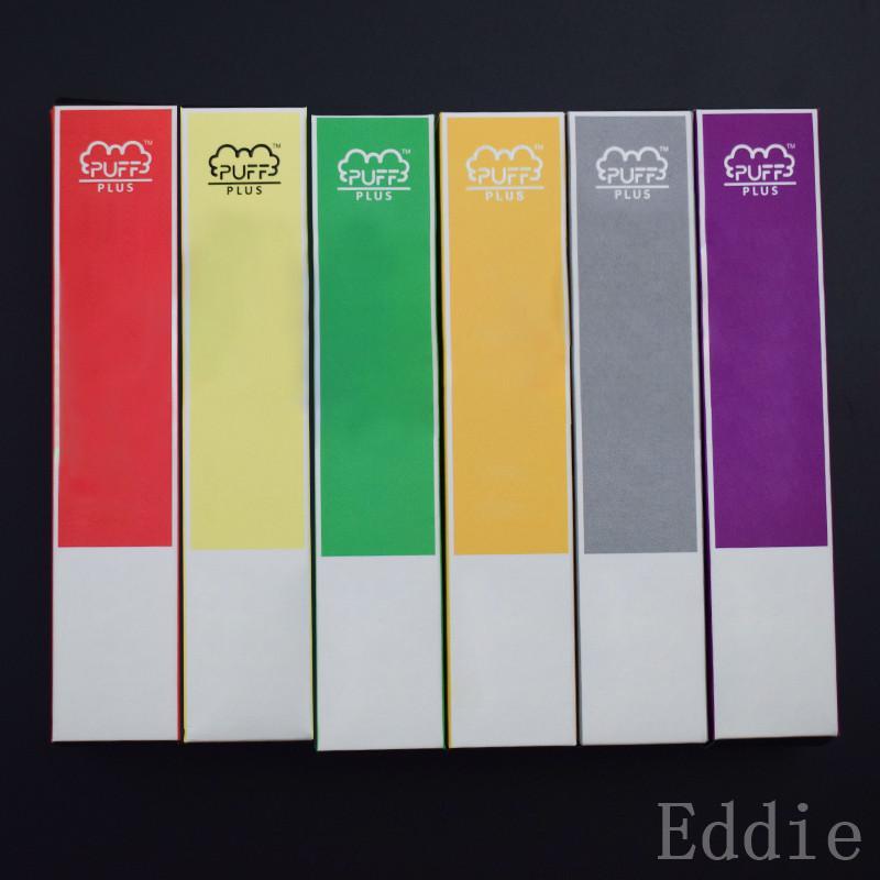 PUFF BAR PLUS 800 + Puffs Einweg Vape Pen 550mAh Akku 3,2 ml Pods Cartridges Pre-Filled e CIGS