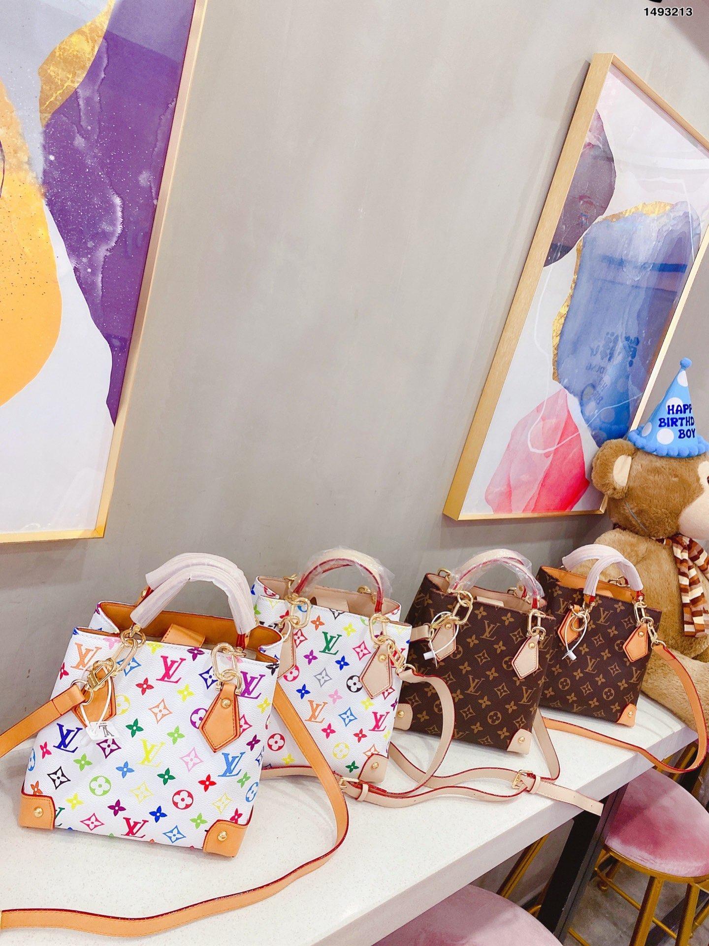 En kaliteli kadın omuz çantaları Büyük taşımak alışveriş çanta taşımak çantası Retro lüks moda kadın çantaları vintage çanta cüzdan çanta FJ166