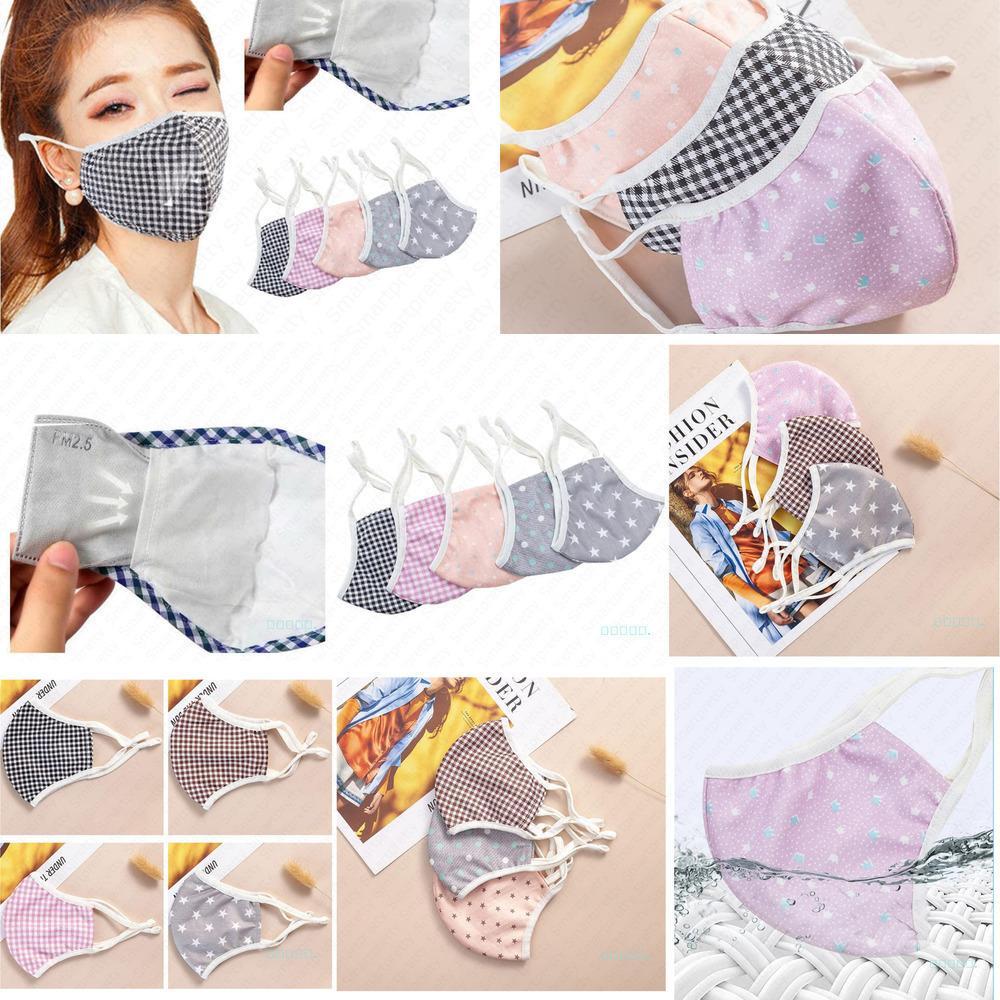Sommer Baumwolle Unisex Anti-Staub Frühling Schablonen-Gesichtsmaske atmungsaktiv Mundschutz Respirator War P6hd