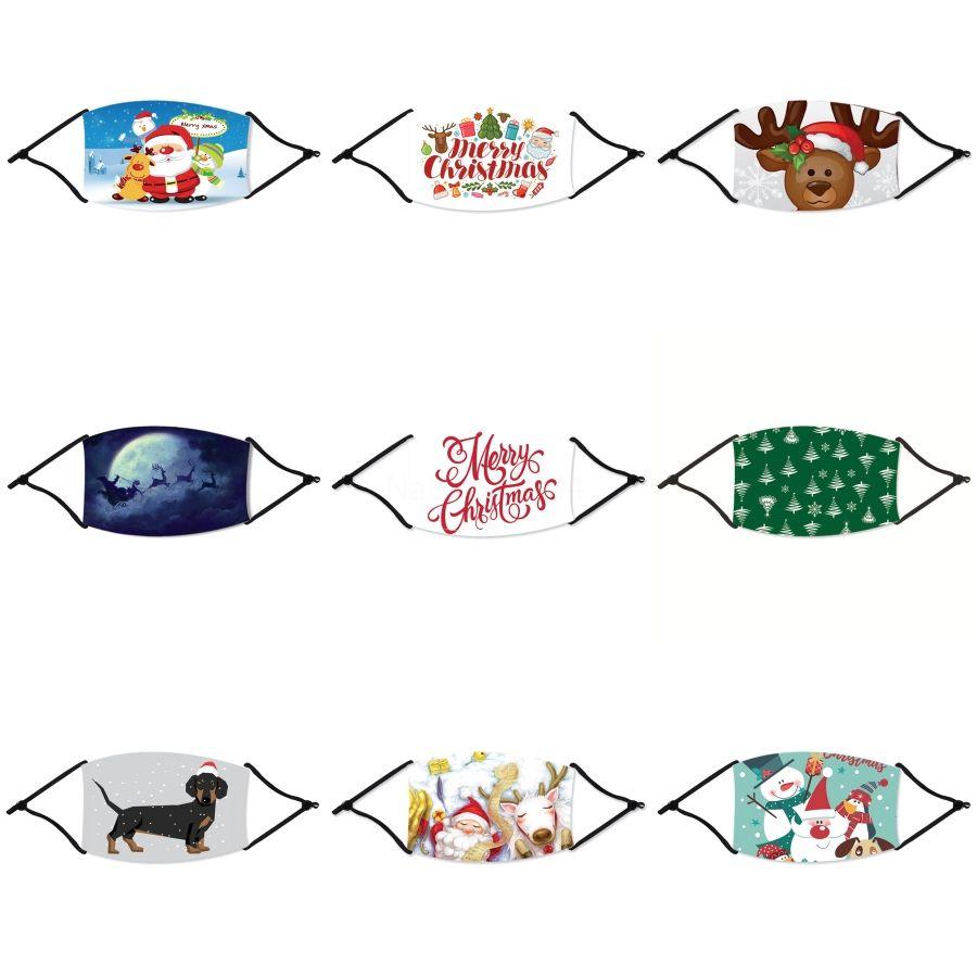Eu não posso respirar Máscara Natal Designer Máscaras de Natal Rosto lavável não posso respirar máscara preta Natal ao ar livre Desporto de equitação P # 786