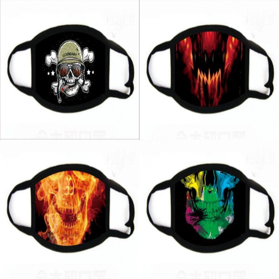 Máscaras Disposale Fa impresión de 3 capas Máscaras gancho auricular polvo Mout impresión Er 3 capas no tejidas Disposale máscara de polvo suave Reatale parte exterior Fa # 963