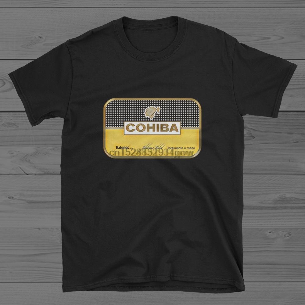COHIBA cigarro Habano Cuba camiseta