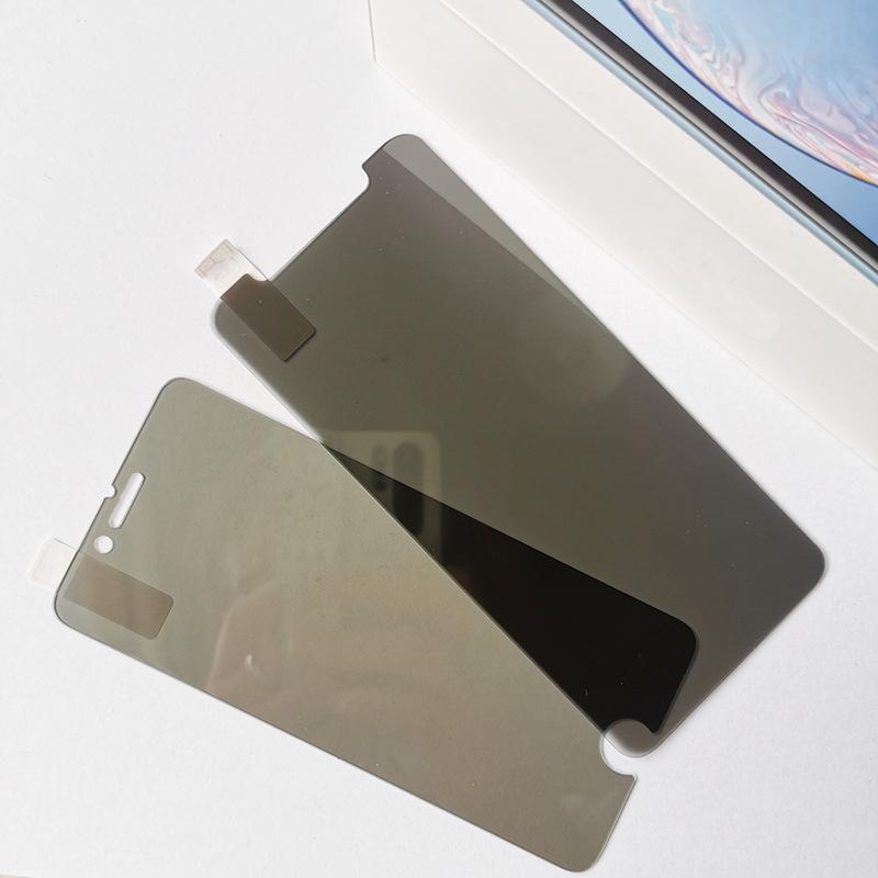 Privacidade de vidro temperado para iPhone X XS XR 6 6S 7 8 Plus Anti-Spy protetor de tela 9H Dureza vidro temperado
