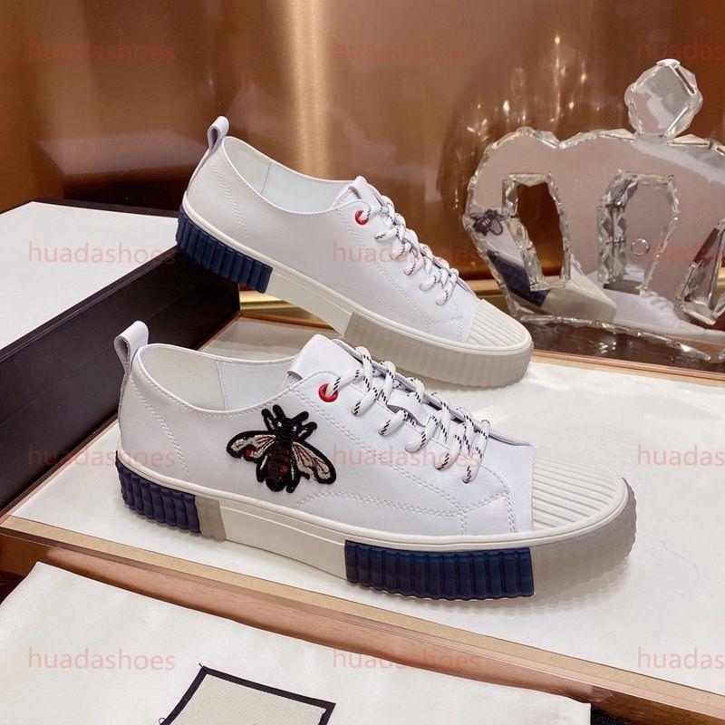 Gucci Shoes Vender Hot Style Fashion Low Top Shoes luxe sapata de passeio Rebites Plano outdoor partido sapatos de casamento