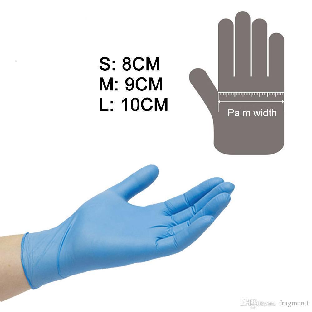 Anti-V guanto di nitrile durevoli guanti AMMEX SGS gomma monouso senza talco per MD EMD ER laboratorio professionale Used11