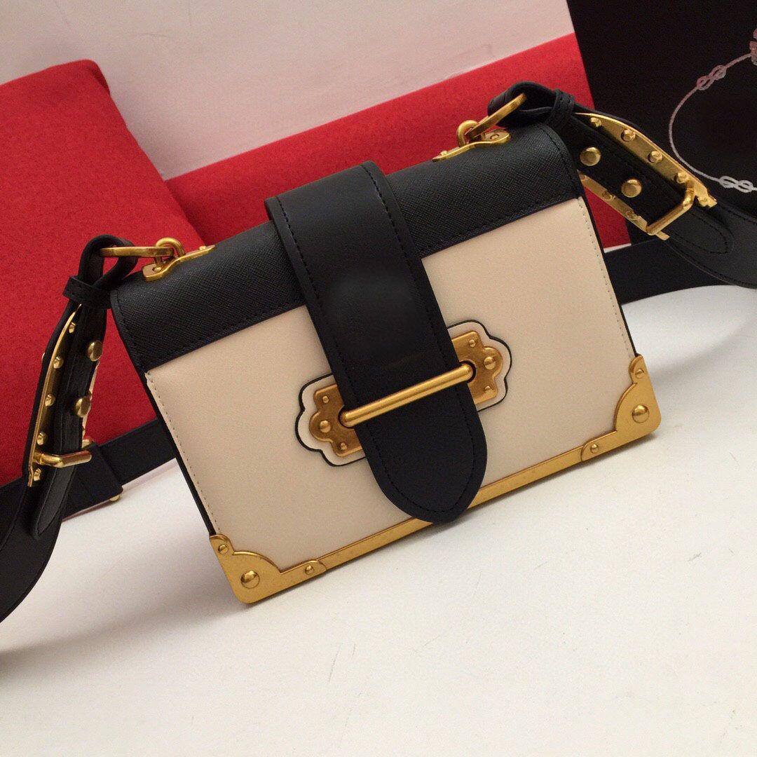 وصول المرأة الجديدة حقيبة جلدية سلسلة حقائب الكتف محفظة الإناث خمر حقيبة محفظة CROSSBODY للإناث