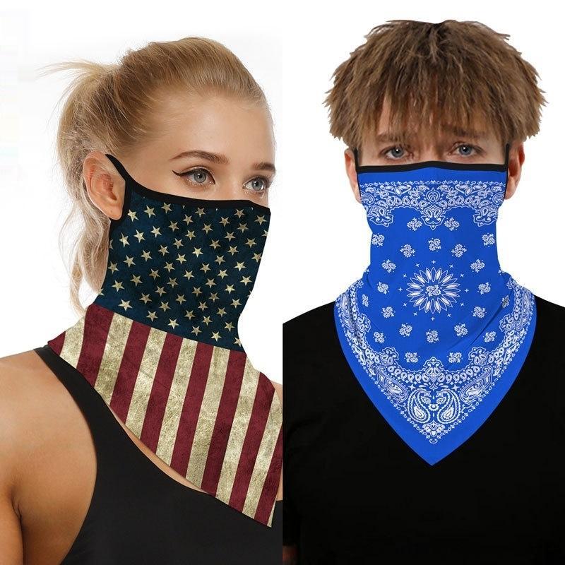 e66z0 Máscara andar à prova de poeira à prova de sol de esportes ao ar livre Ice Silk ProtectionScarf anti-voando espuma mágica proteção equitação máscara de poeira à prova de sol