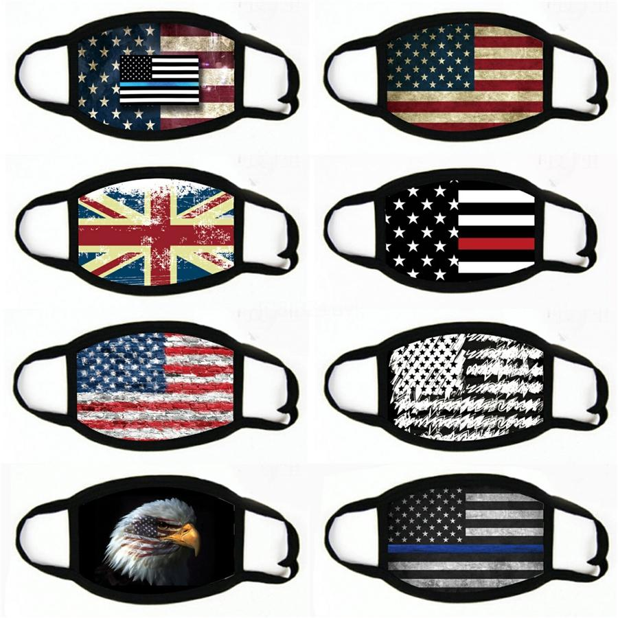 Confederate Flag Maschera Flag traspirante lavabile antipolvere US Battaglia Southern mascherina protettiva regolabile per adulti Bocca copertina LJJP275 # 437