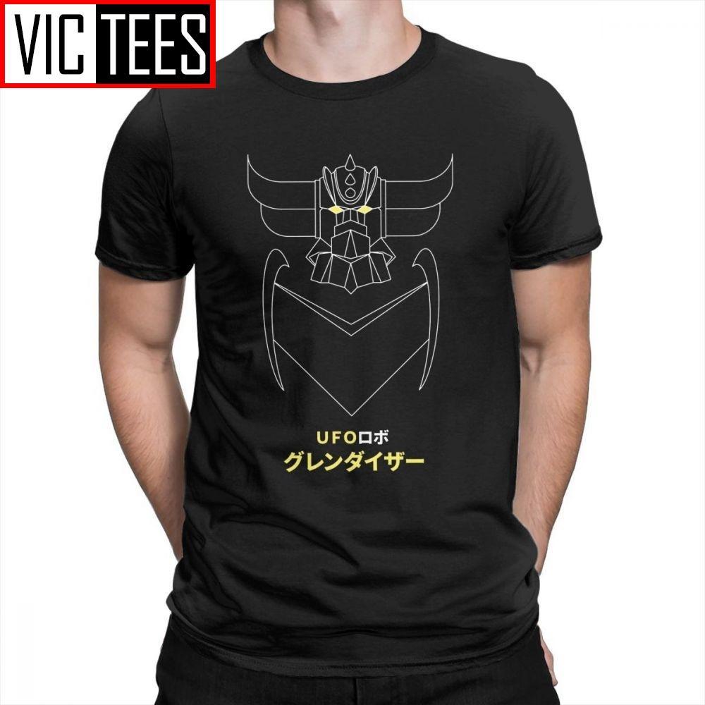Esquema grendizer Versión UFO Robot Grendizer Hombre Camisetas Camisetas normal Camiseta para hombre de algodón purificado Plus
