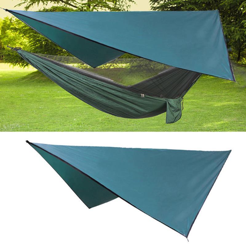 Multifunzionale esterna impermeabile di protezione UV baldacchino della tenda di campeggio d'escursione barbecue tenda solare Garden Ombra Vela Shelter