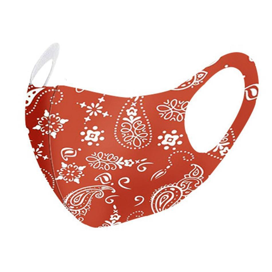 Maske Dhl Single Pack Printed Gesicht PM2.5-Antistaub-Sommer Waschbar Wiederverwendbare Breathaußenschutz Adult Mundschutz Partei-Schablonen