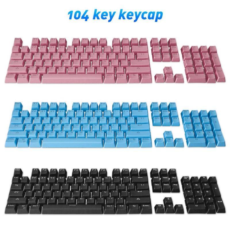 104 Keyscaps Chaves variedade de opções de cores para teclado cereja MX mecânica Switches Cap Key