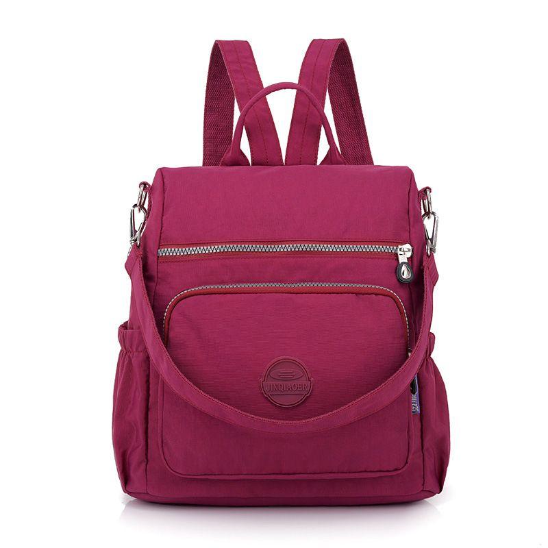 Diaper Bags Fashion Nylon Backpack Women Casual Baby Nappy Bag Mother Shoulder Mummy Handbag Waterproof Stroller