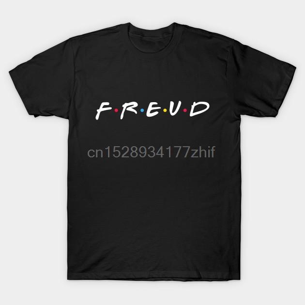 Sigmund Freud tişört Kadın T gömlek tişört Erkekler