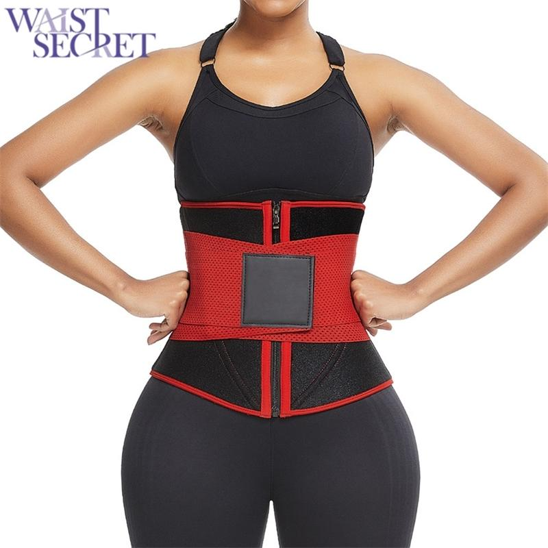 WAIST SECRET Waist Trainer Slimming Underwear Cincher Corset Slimming Belt Modeling Strap Shapers Body Shaper Slimming Corset T200915