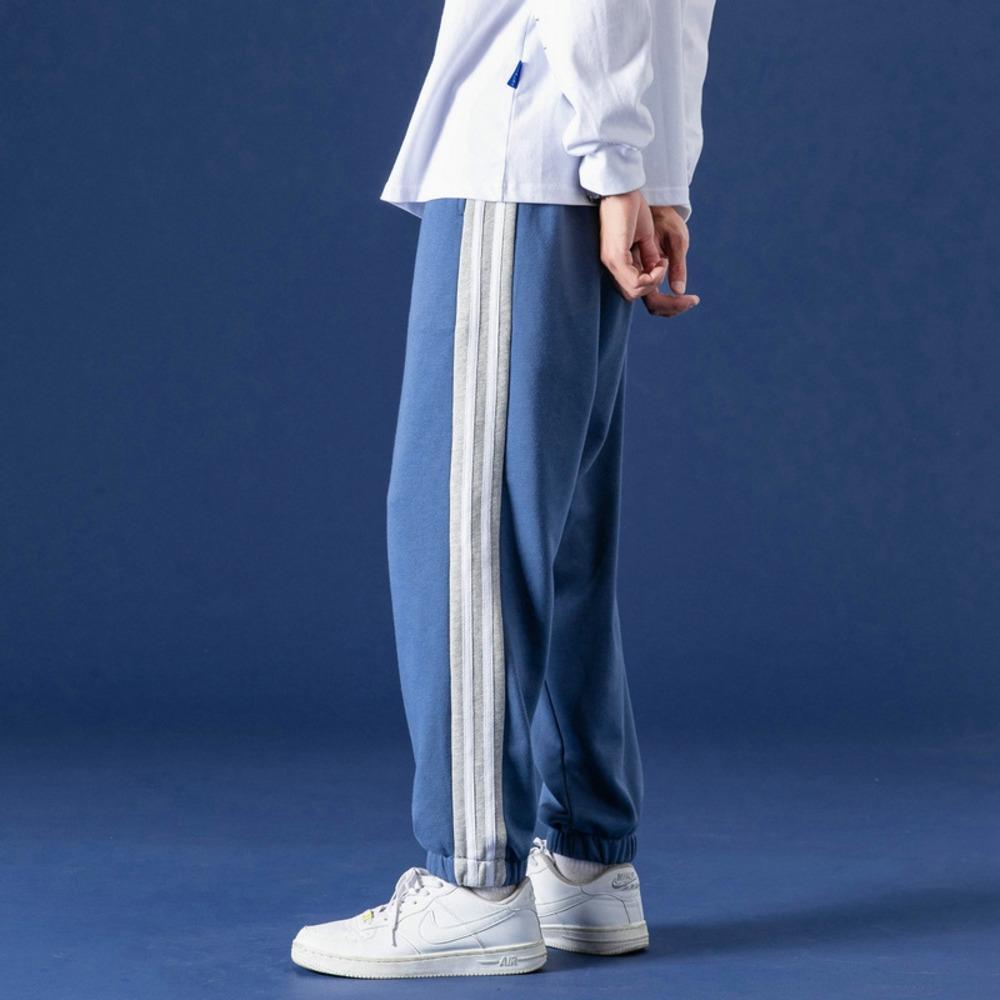 printemps lâche pieds et les jeunes d'automne des hommes juniors lycéens style coréen à la mode décontractée pantalon décontracté pantssports pantalons pantalons de sport