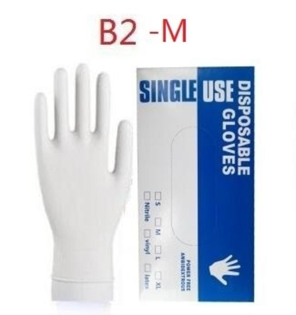 Nitril 100pcs / lot Eldiven Koruyucu Lateks Eldiven Eldiven Tek kullanımlık eldiven Kauçuk Eldiven PVC Safet 3io5
