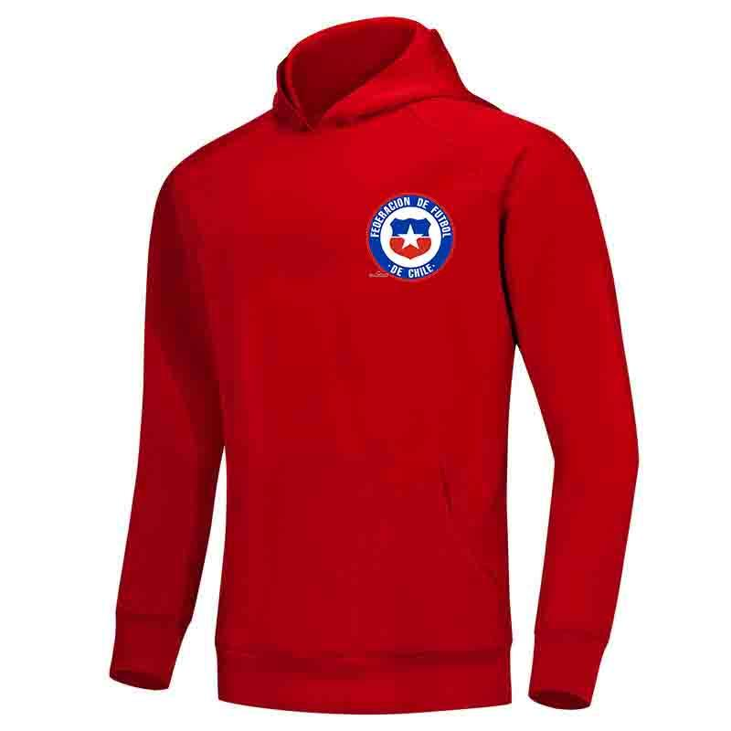 Чили F.C Men Hoodie свитер Super Soft Printed куртка футбол Fleeces Открытый зимний теплый Весте вскользь Женщины Платья