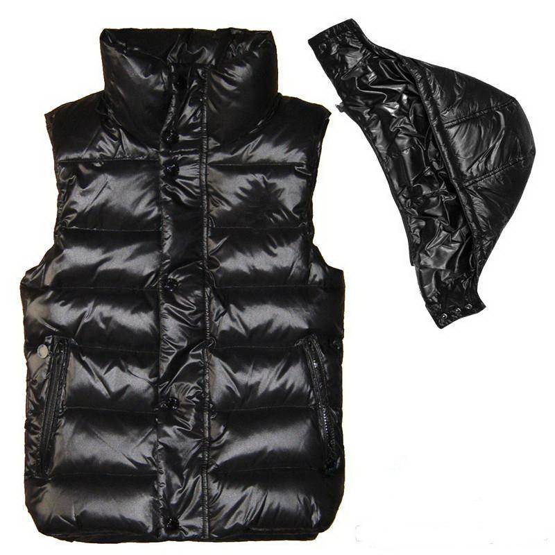 Männer und Frauen Winter bekleiden unten Feder weskit Jacken Frauen beiläufige Westen Mantel Mens Daunenmantel Oberbekleidung