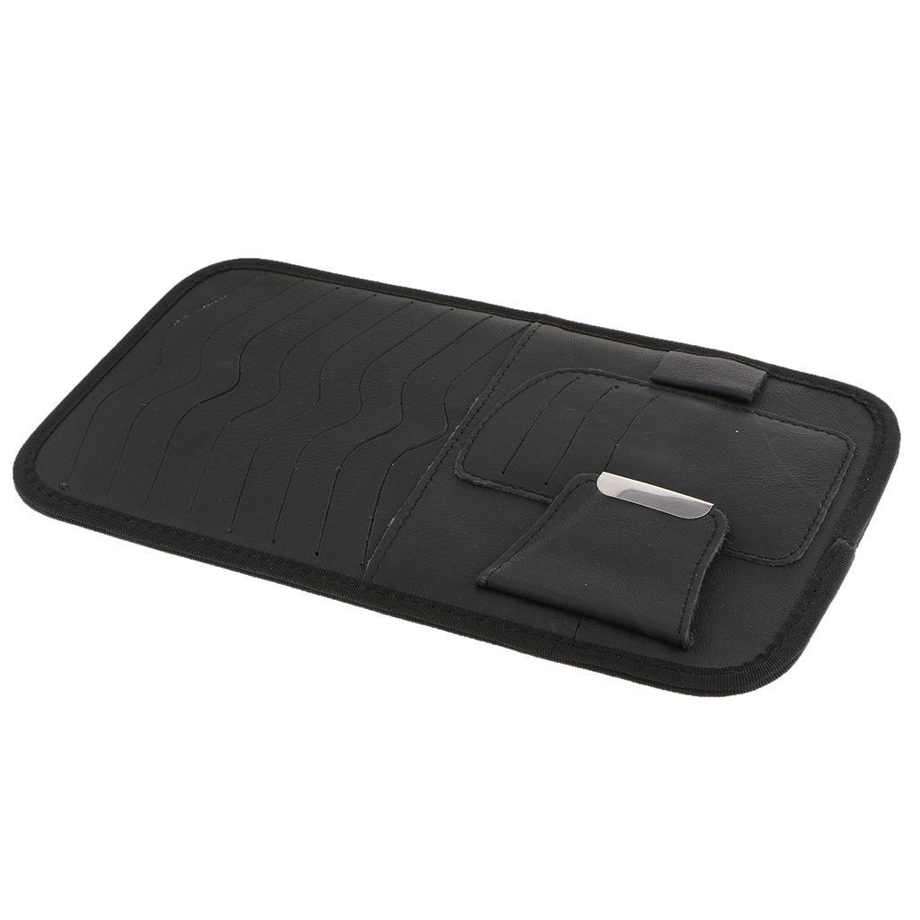 13 дюймов CDS DVD Disc Poughage Bag Case Case Case Auto Sunshade Visor Cooler Summer