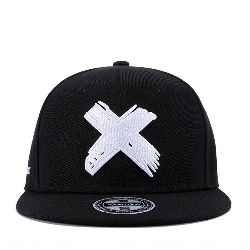 MPsrL X letras aleros planas de los hombres de moda de la calle y de las mujeres alcanzaron su punto máximo HipHop Rap Hip Hop de baloncesto en punta casquillo gorra de béisbol Béisbol