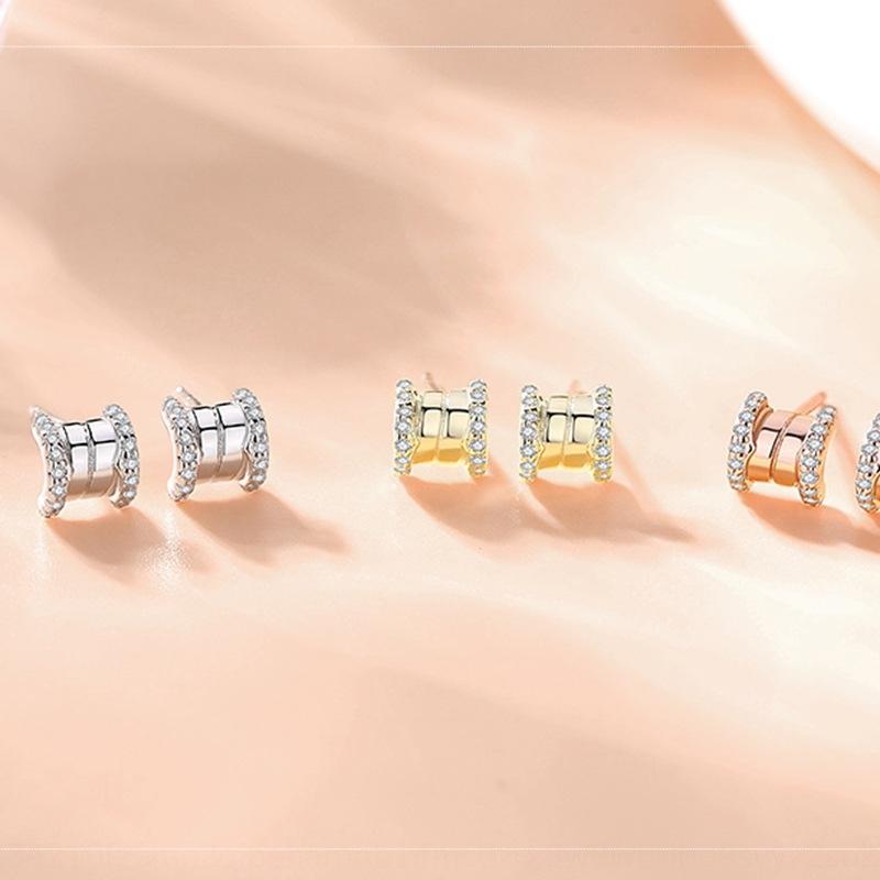 P0ZTw Frauen Kleine Taille S925 Silber elegant großer Mode Diamant 2020 Diamant-Ohrringe und Ohrringe Neue