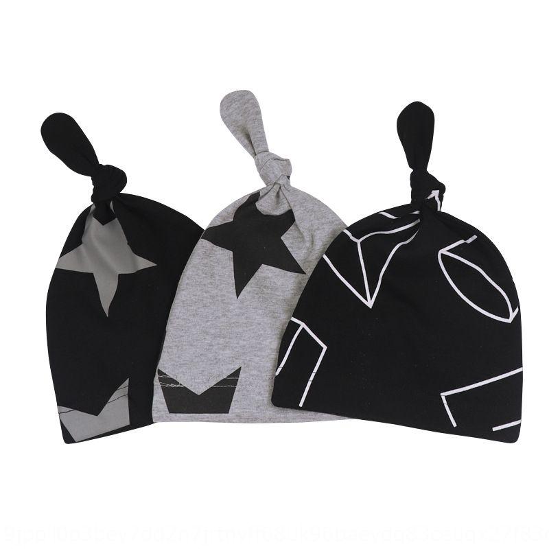 HFAl6 весна осень и зима новой ребенок шапки Star пуловеры крышка хвост звезда геометрический стиль ребенок пуловер шляпу мужчины и женские детская шапка