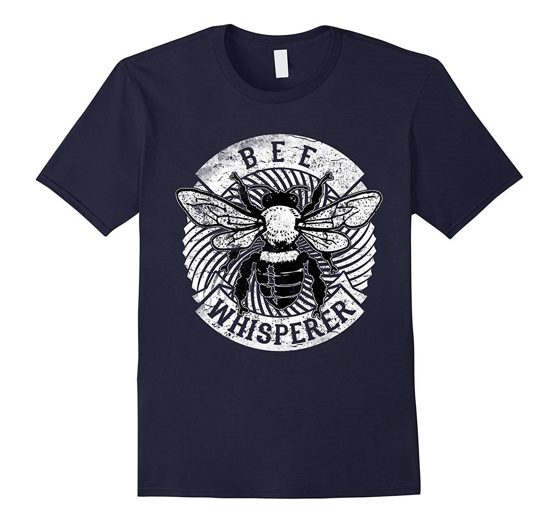 Bee Whisperer Imker T Shirt Honig-Pollen-Geschenke T Erstaunlich kurze Hülsen Einzigartige beiläufige Tees 100% Baumwollkleidung T-Shirt