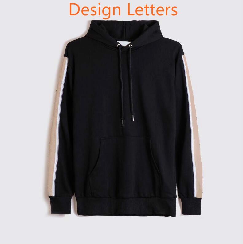 20FW lettres imprimé Mode capuche Hommes Femmes Sweat-shirt Pull-overs Pull Casual Streewear à capuchon Homme Vêtements S-2XL