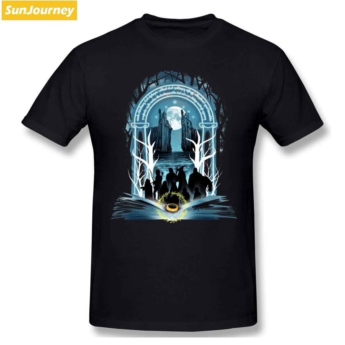 Book Of Fellowship Bookworm uomini della maglietta grande formato cotone manica corta da uomo T-shirt