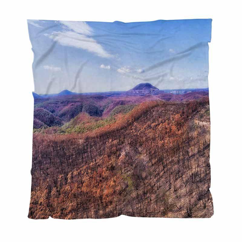 Réchauffez Flanelle Toison couvertures moelleuses Couvertures solides D BM Bushfires basse légère chaud Couverture pour lit Canapé Canapé d'extérieur Voyage