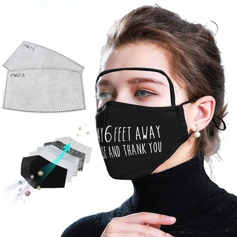 Máscara Designer crianças enfrentam Protetor Com Eye Mask máscara protetora Oudoor Dustproof Somong face Proteção WX20-31