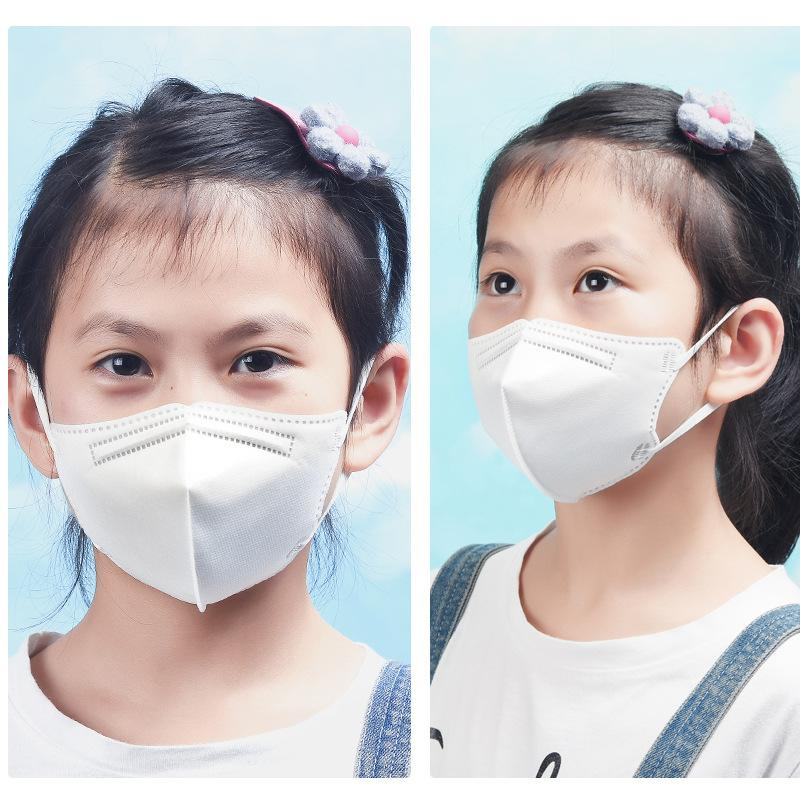 kn95 قناع الأزياء وجه Kn95 أقنعة صغيرة من الطلاب للتنفس ومكافحة بالقطيرات واقية من الغبار يمكن استخدام الفم واقية وقناع الأنف