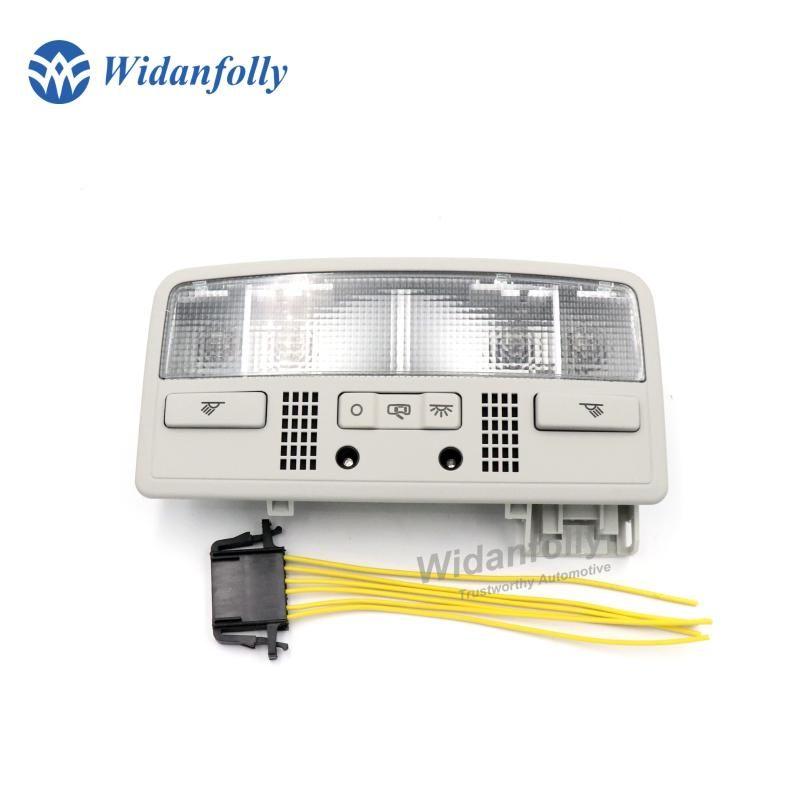 Widanfolly Gray Interior Dome Light Reading Lamp + Cable for B5 Octavia Superb 3BD 947 105 2EN 3BD947105 2EN