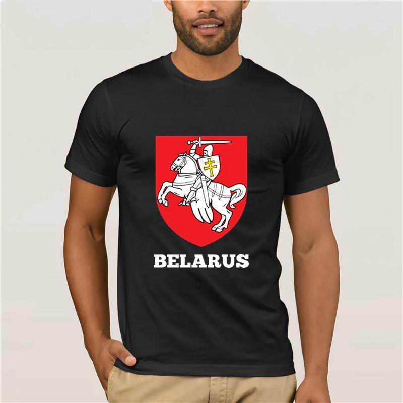 Sweet As sucre dur comme la glace conception coton à manches courtes T-shirts Belarus Bouclier Mode Hommes manches T-shirt pour homme