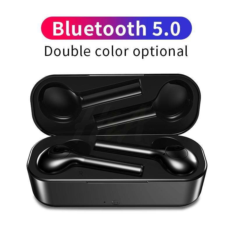 Ofrecer $ 1 Bluetooth 5.0 auricular para todo el Auricular Inalámbrico Móvil Mini para Huawei Deportes Auriculares + caja del cargador