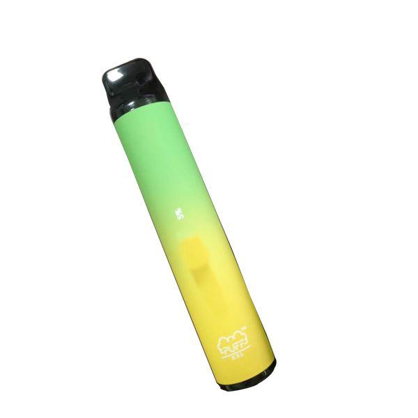 Moda Ürünleri Aperatif Bar 1600 poğaçalar Puff XXL Tek Vape Device110 Renkler DAİREMİZ hazır dolu Buharı Cigs Sigaralar e