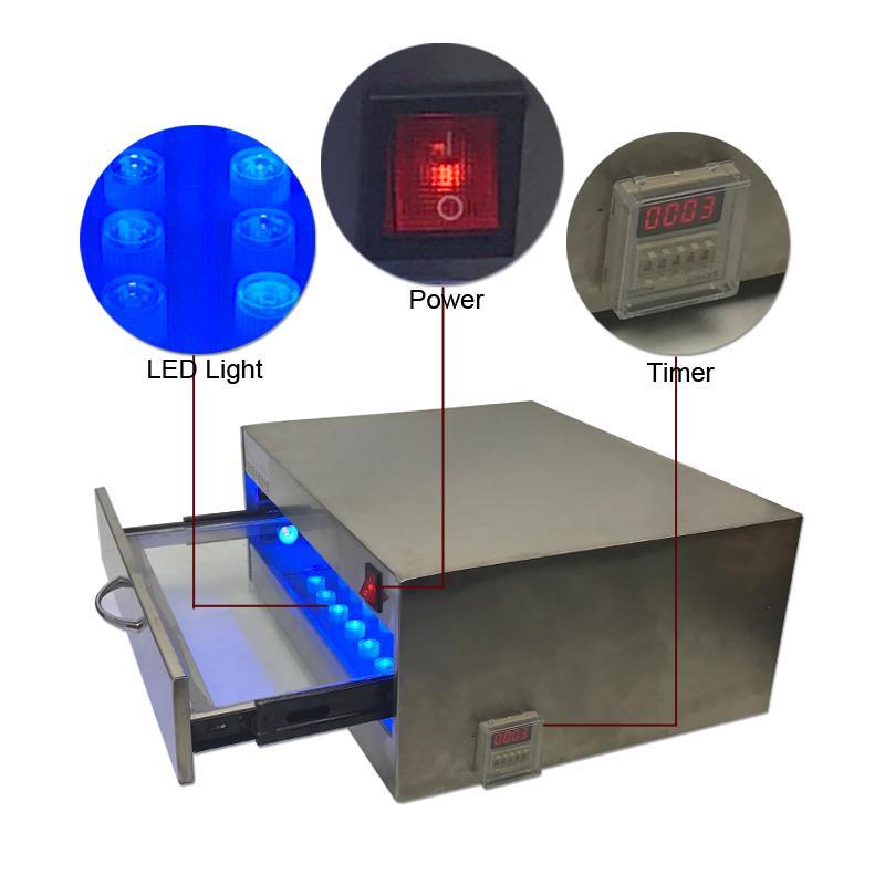 Горячие Выдвижной Дизайн LY UV леча LED Box 84W 118W 110V 220V Lamp Factory Поставка OEM ODM