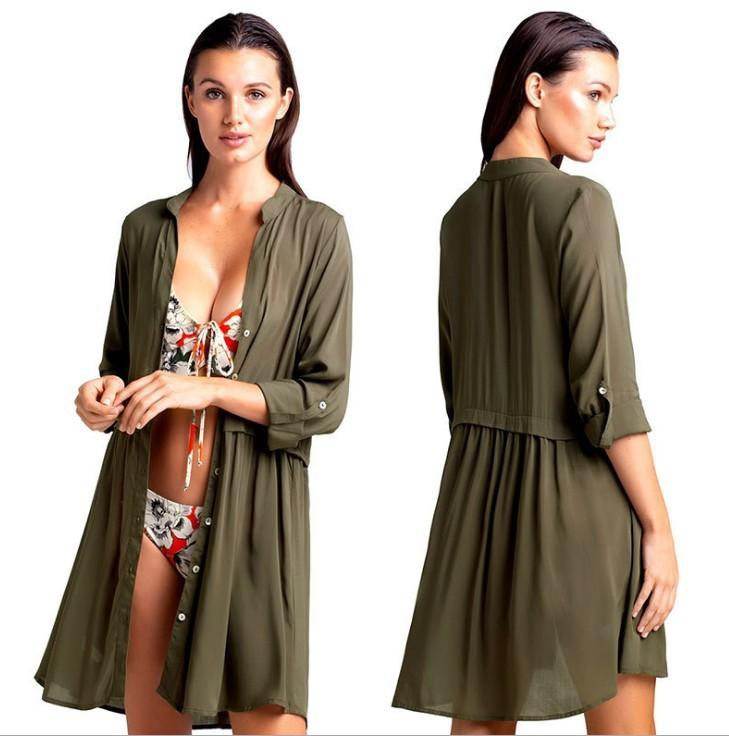 Maio Feminino Praia Women's Beachwear Dresses Long Sun Cape For Swimsuit Cover Up Swimming Suit Vestido De Bathing Kaftan Beach