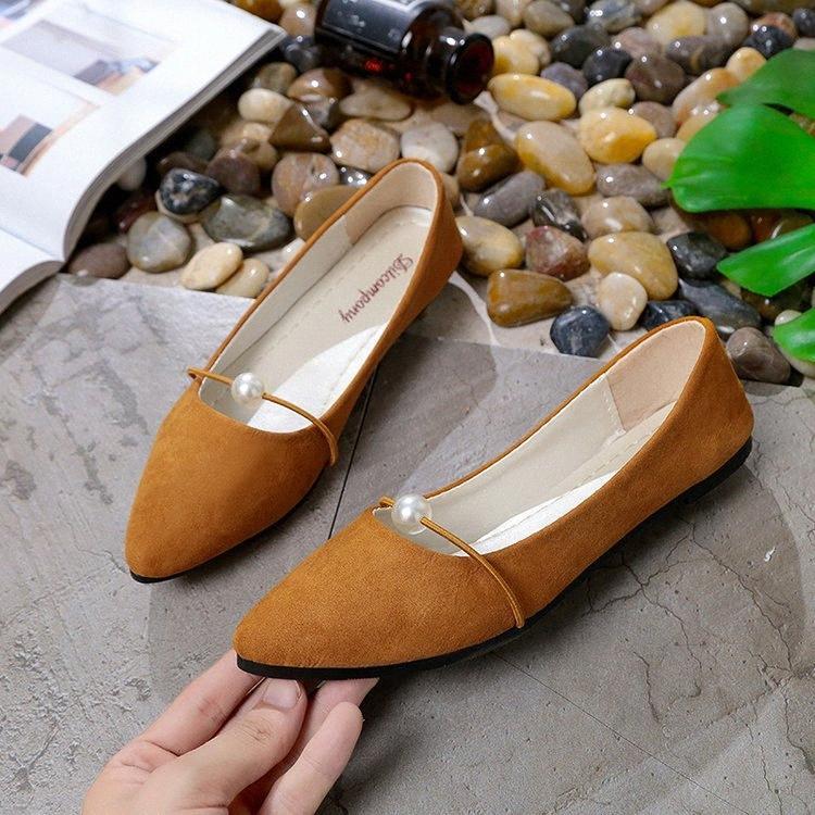 Zanpace signore Sandali 2020 Summer Fashion Low sandali gladiatore in pelle Womens scarpe a punta Ufficio Zapatos Mujer 05sF #
