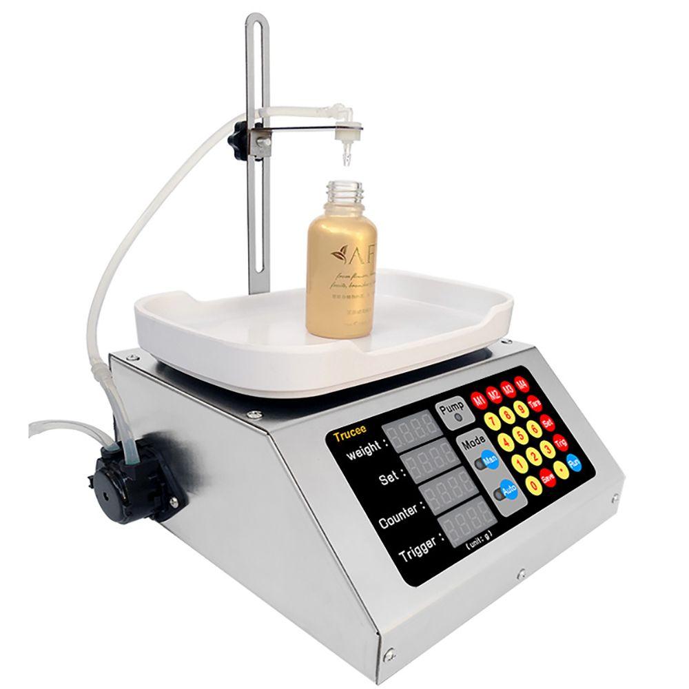 التلقائي الكمية الوزن آلة ملء مضخة تحوي موزع السائل مايكرو الاستغناء عن جهاز الجرعات 90ML / دقيقة CSY-M9