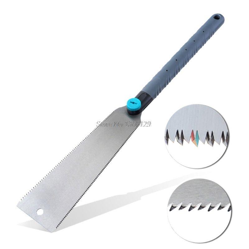 Saw mão considerou SK5 japonês Teeth 3 de ponta 65 HRC cortador de madeira Para Tenon madeira de bambu plástico corte de carpintaria Ferramentas Dropship